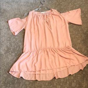 Amanda Uprichard cold shoulder dress